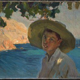 Chico con sombrero, Jávea, de Sorolla, protagonista del III Salon du Connaisseur