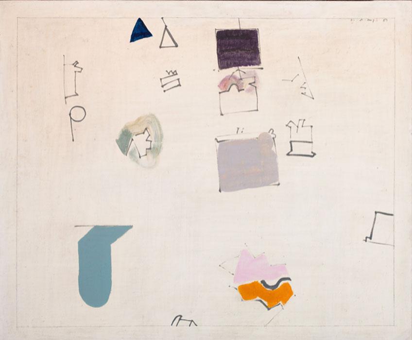 Manuel Hernández Mompó. Sin título, 1969. Galería Jorge Juan