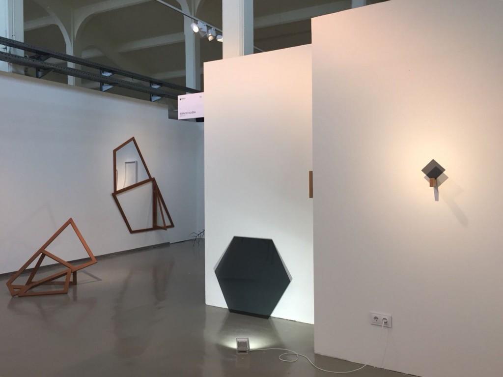 Obra de Beatriz Castela en el stand de Espacio Olvera en SCULTO 2018