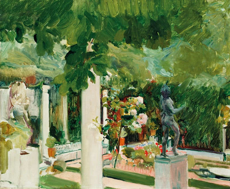 Joaquín Sorolla. Jardín de la casa de Sorolla, 1918-1919. Museo Sorolla