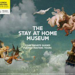 """Antes de volver a su casa, el Cordero Místico pasará por las nuestras gracias a la iniciativa digital """"Stay at Home Museum"""""""