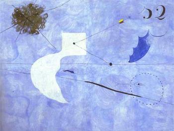 Joan Miró. Siesta, 1925
