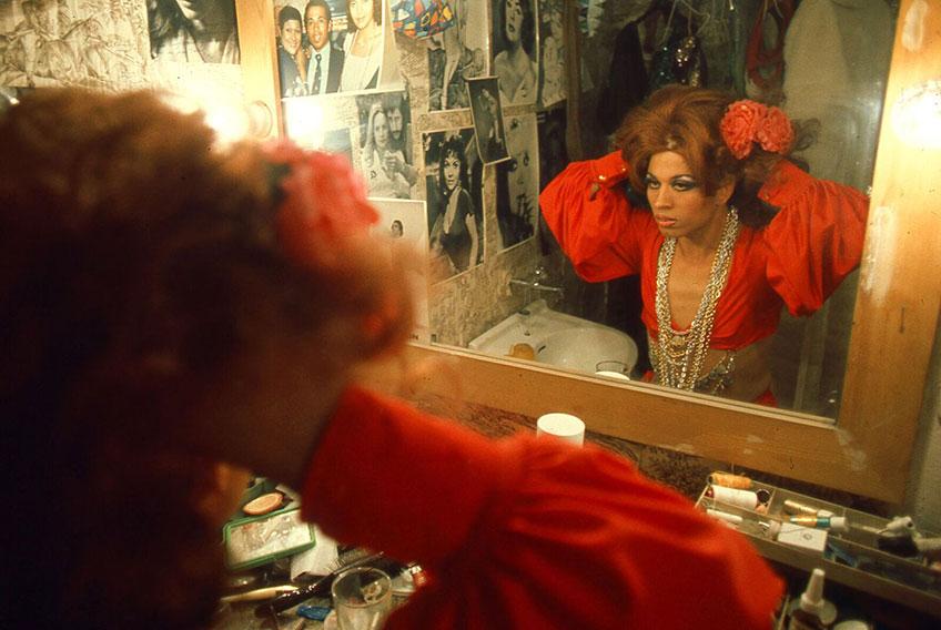 César Lucas. Paco España ante el espejo, 1977