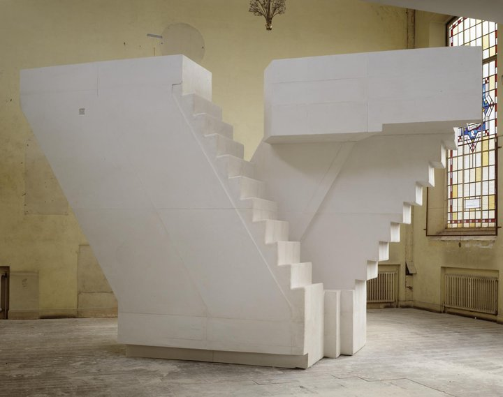 Rachel Whiteread. Untitled (Stairs), 2001. Tate