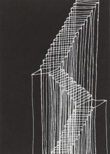 Rachel Whiteread. Stairs, 1995. Colección privada