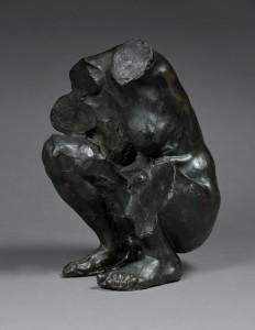Camille Claudel. Torso de una mujer en cuclillas, 1913