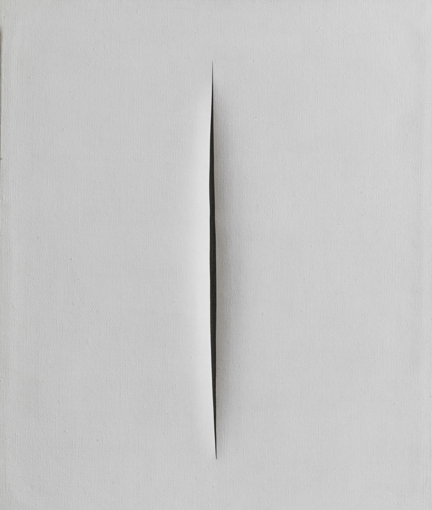 Lucio Fontana. Attesa, 1964. Tornabuoni Art