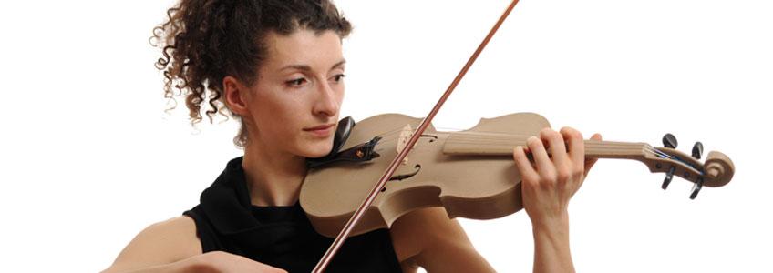EOS Gmbh Eletro Optical Systems. Violín Stradivarius Réplica, 2013