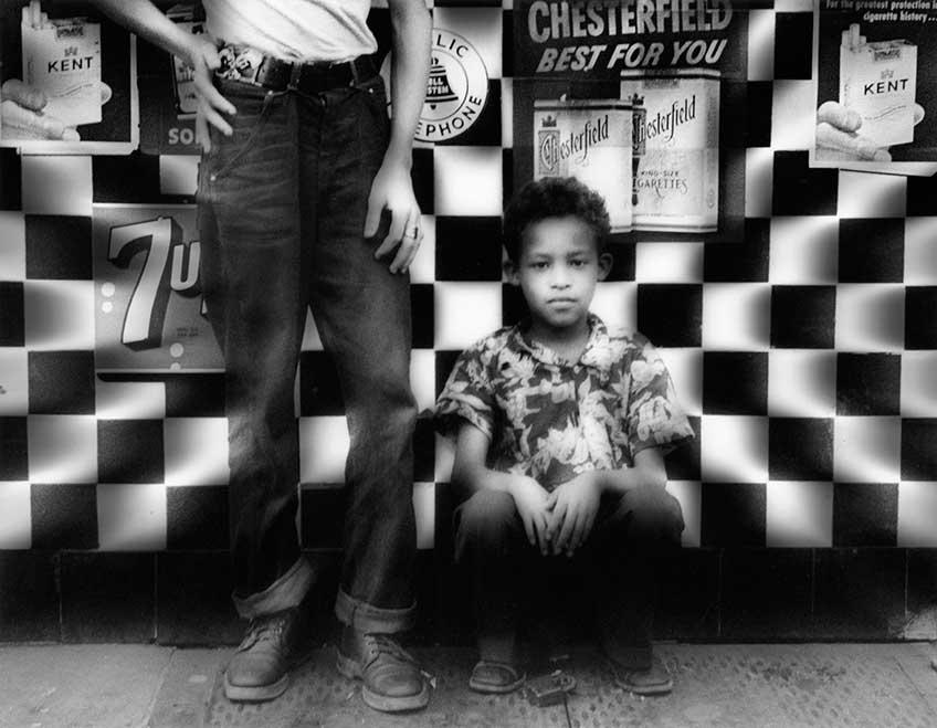 William Klein. Candy Store, Amsterdam Avenue, New York 1954. Exposición en Espacio Fundación Telefónica
