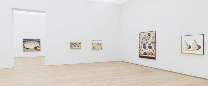 Wayne Thiebaud en el Museum Voorlinden