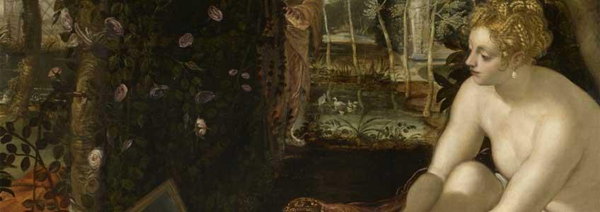 Tintoretto. Susana y los viejos, 1555-1556