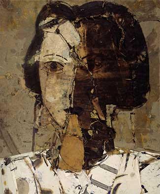 Manolo Valdés. Retrato en grises, 1998