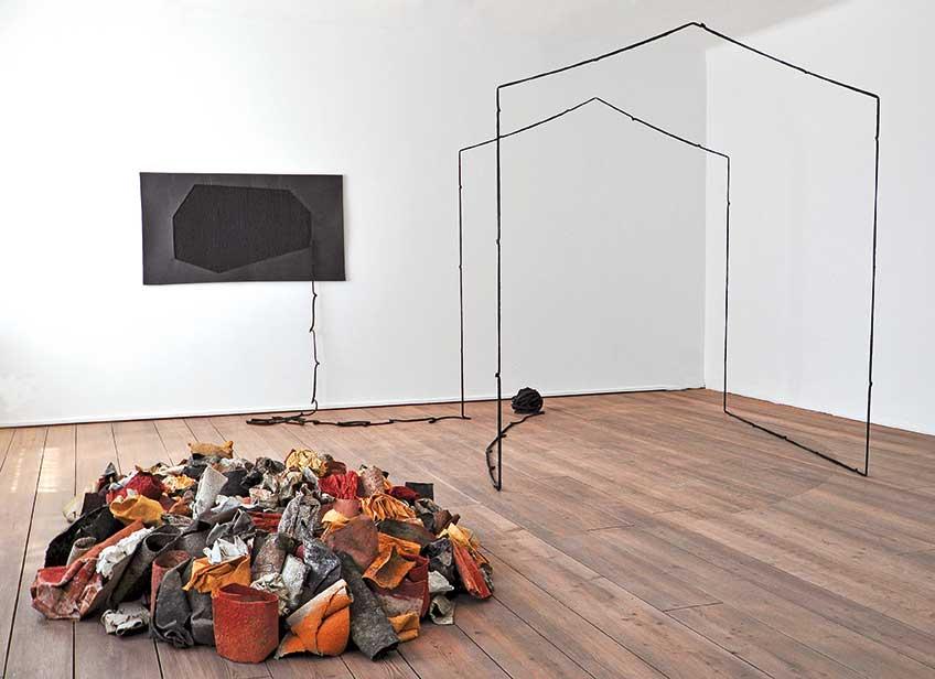 Herbert Egger y Christine Bauer. Shiras Galería