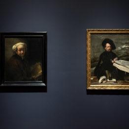 Rembrandt y Velázquez, otras miradas afines