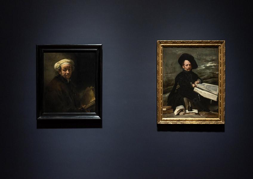 "Vista de ""Rembrandt-Velázquez. Dutch & Spanish Masters"" en el Rijksmuseum"