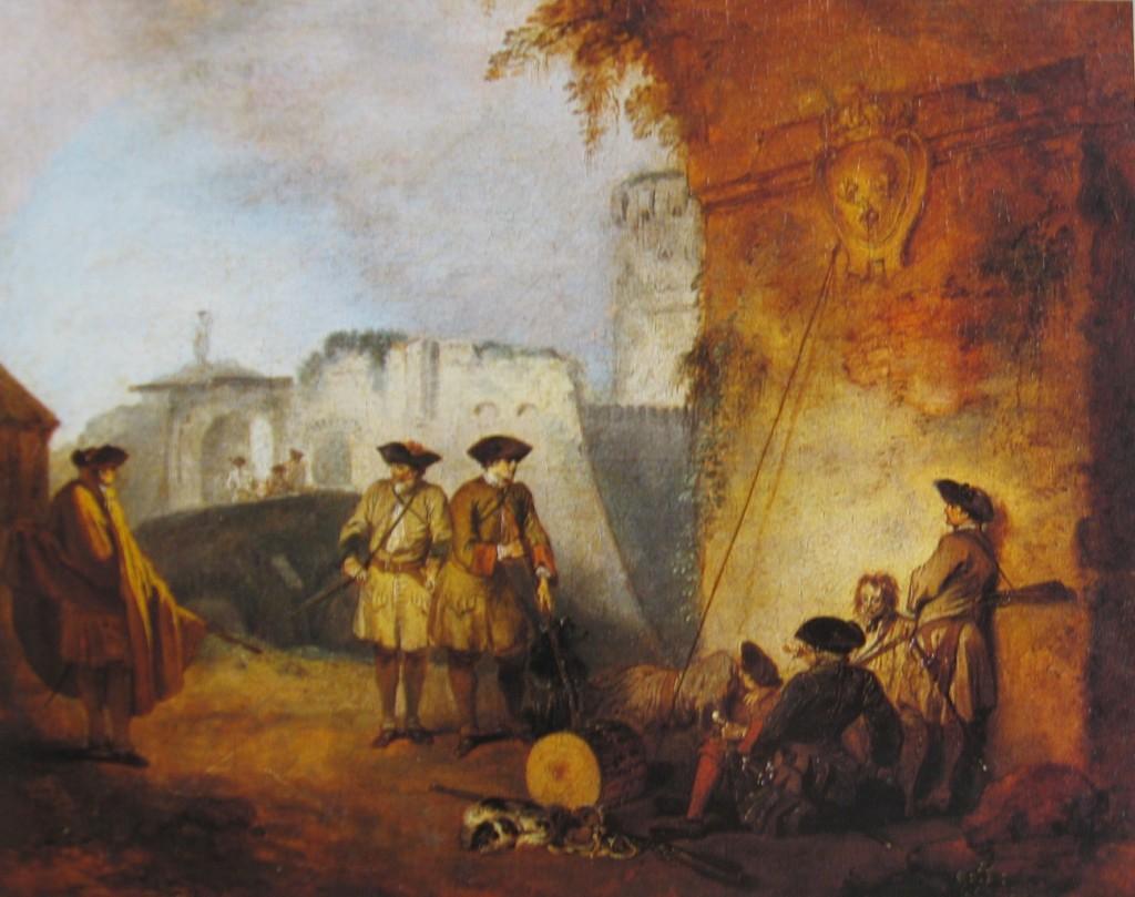 Watteau. El portal de Valenciennes
