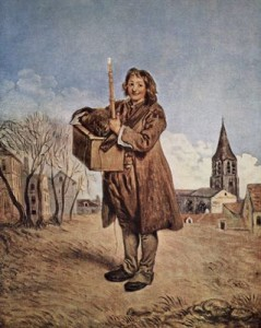 Antoine Watteau. La marmota