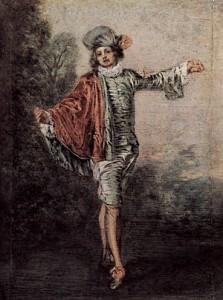 Watteau. El indiferente