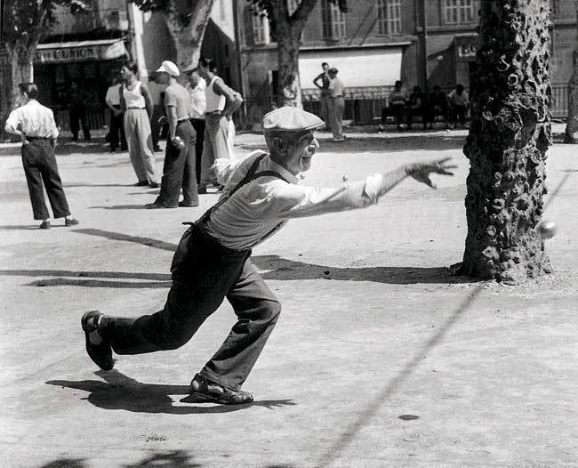 Willy Ronis. Partida de petanca, 1947