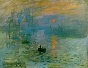 Claude Monet. Impresión: soleil levant, 1872-1873