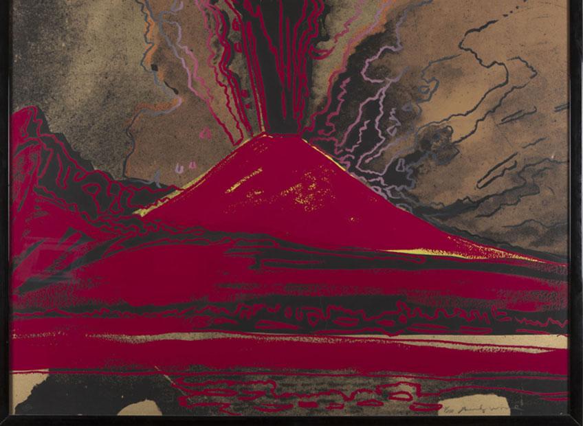 Andy Warhol. Vesuvio, 1984. Collezione Consolandi, Milán