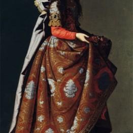 Francisco de Zurbarán. Saint Casilda, ca. 1635. Museo Thyssen-Bornemisza