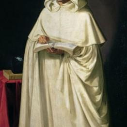 Francisco de Zurbarán. Fray Jerónimo Pérez, ca. 1632-1634. Museo de la Real Academia de Bellas Artes de San Fernando