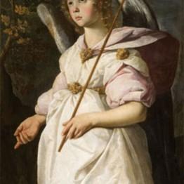 Francisco de Zurbarán. Saint Gabriel the Archangel, ca. 1631-1632. Musée Fabre, Montpellier