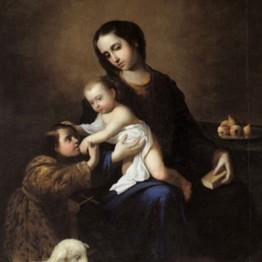Francisco de Zurbarán. The Virgin and Child with Saint John the Baptist. 1662. Museo de Bellas Artes de Bilbao