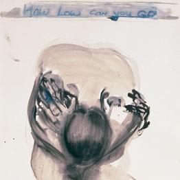 Marlene Dumas. Fondation Beyeler. How low can you go
