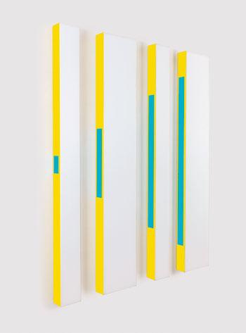 César Paternosto. 1.2.1.2, 1972. Cortesía Galerie Denise René, París