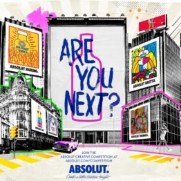 Absolut Creative Competition 2018