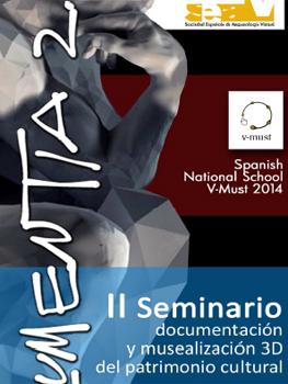II Seminario de Documentación y Musealización 3D del Patrimonio Cultural