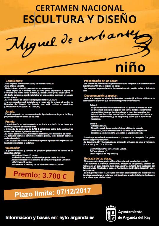 Certamen Nacional de Escultura y Diseño Miguel de Cervantes