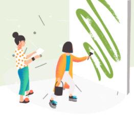 Orientación profesional para artistas visuales. Arte Sostenible