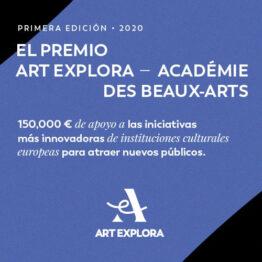 Premio Europeo Art Explora – Académie des Beaux-Arts 2020