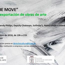Art on the move. Controles de exportación de obras de arte. Jornada en el Museo Lázaro Galdiano, el 13 de septiembre de 2018
