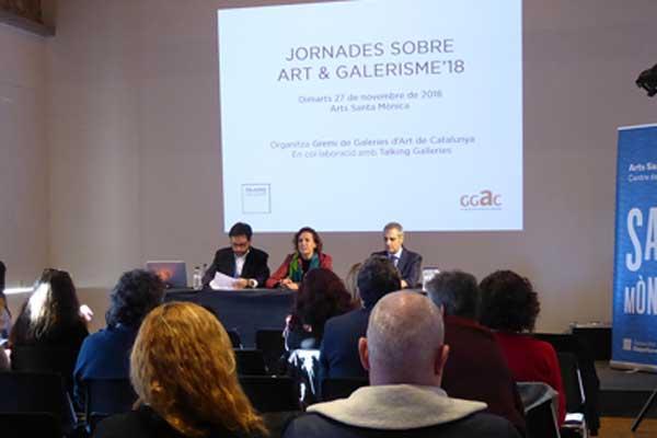 Jornadas sobre Arte y Galerismo 2019 en Arts Santa Mònica