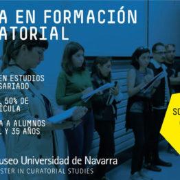 Beca en formacuón curatorial. Museo Universidad de Navarra