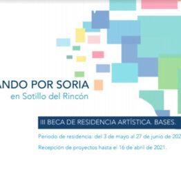 III Beca de residencia artística Creando por Soria