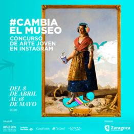 #CambiaelMuseo. Concurso en Instagram convocado por el Ayuntamiento de Zaragoza