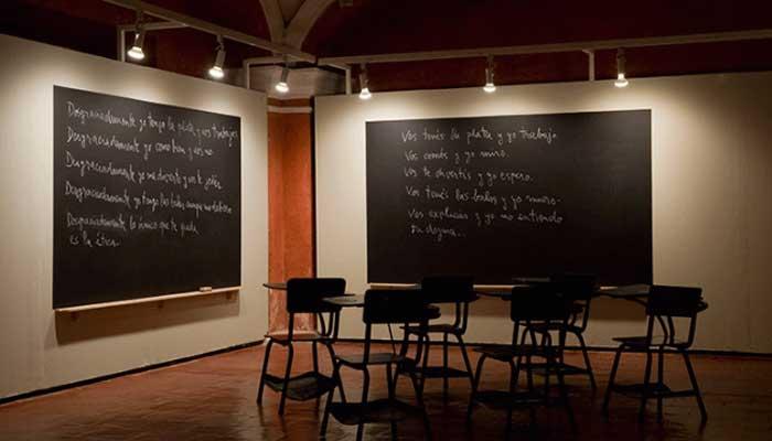 Hacia un socialismo de la creatividad. Luis Camnitzer conversa con María Acaso y Selina Blasco en el Museo Reina Sofía