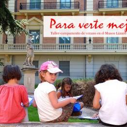 Para verte mejor. 11ª edición del campamento de verano para niño del Museo Lázaro Galdiano