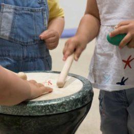 Iniciación musical. Cuando el mar suena. Taller infantil en el Museo Carmen Thyssen Málaga