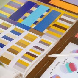 Teoría del color, armonías y creación de paletas de colores. La Casa Encendida