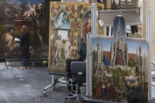 Cátedra 2017: El Taller de restauración de pintura del Museo del Prado: tradición e innovación