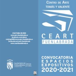 Convocatoria de exposiciones CEART Tomás y Valiente 2020 - 2021