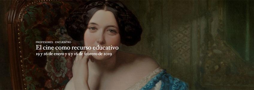 El cine como recurso educativo. Encuentro para profesores en el Museo del Prado