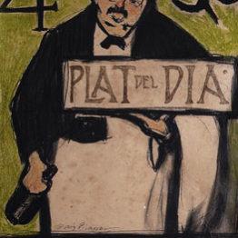 La cocina de Picasso. Ciclo de conferencias en torno a la exposición en el Museu Picasso, en septiembre de 2018