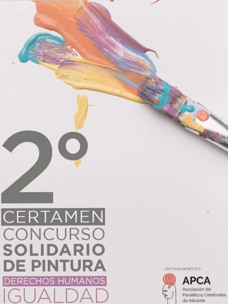 II Certamen Concurso Solidario de Pintura. Sánchez Butrón Abogados